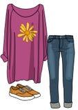 Abbigliamento Fotografia Stock