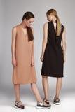 Abbigliamento casual del catalogo di stile di modo di fascino per la donna di affari Fotografia Stock