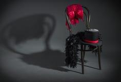 abbigliamento del ballerino del cabaret Fotografia Stock Libera da Diritti
