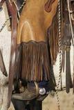 Abbigliamento del cowboy Fotografie Stock Libere da Diritti