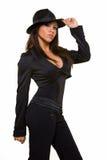 Abbigliamento del gangster Fotografia Stock