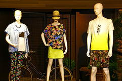 Abbigliamento delle signore & del Mens Immagine Stock Libera da Diritti
