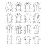 Abbigliamento di Men's royalty illustrazione gratis