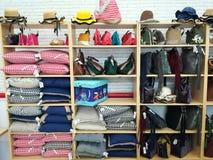 Abbigliamento ed accessori della raccolta di autunno Immagini Stock