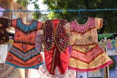 Abbigliamento indiano tradizionale immagine stock libera da diritti