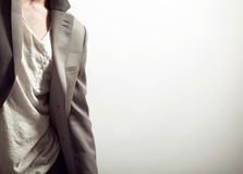 Abbigliamento maschile Fotografie Stock