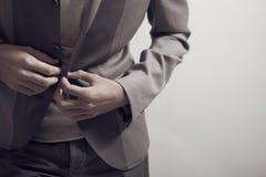 Abbigliamento maschile Immagine Stock