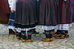 Abbigliamento tradizionale bulgaro Fotografia Stock Libera da Diritti