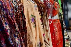 Abbigliamento tradizionale variopinto delle donne Fotografia Stock Libera da Diritti