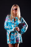 Abbildung der attraktiven Blondine Lizenzfreie Stockfotografie