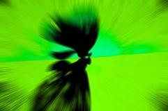 Abbildung der Basisrecheneinheit silhouette Stockfotografie