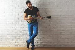 Abbildung der elektrischen Gitarre Lizenzfreie Stockbilder