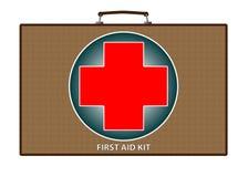 Abbildung der Erste-Hilfe-Ausrüstung Lizenzfreies Stockbild