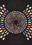 Abbildung der Farben-Kombination Lizenzfreie Stockfotografie
