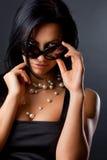Abbildung der flirty Frau Lizenzfreie Stockfotos