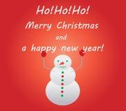 Abbildung der frohen Weihnachten Stockfotos