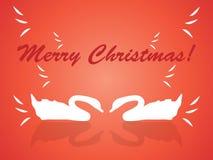 Abbildung der frohen Weihnachten Lizenzfreies Stockbild