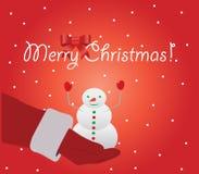 Abbildung der frohen Weihnachten Lizenzfreie Stockfotos