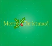 Abbildung der frohen Weihnachten Lizenzfreie Stockfotografie