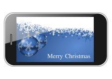 Abbildung der frohen Weihnachten Lizenzfreies Stockfoto