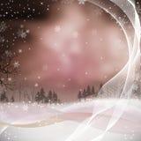 Abbildung der frohen Weihnachten für Weihnachten mit PU Lizenzfreie Stockfotografie