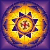 Abbildung der geheimen Mandala Lizenzfreie Stockfotografie