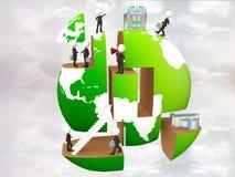 Abbildung der Geschäftsleute lizenzfreie abbildung