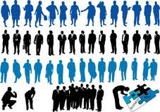 Abbildung der Geschäftsleute Stockfotos