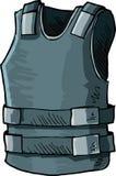 Abbildung der Gewehrkugelbeweisweste Stockbilder