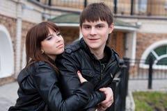 Abbildung der glücklichen Paare Stockfotografie