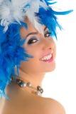 Abbildung der Karnevalsfrau Lizenzfreies Stockfoto