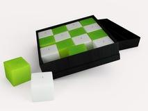 Abbildung der Kerze 3D Stockbilder