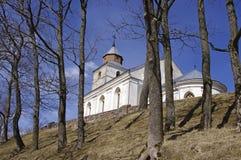 Abbildung der Kirche in Veliuona, in Litauen Lizenzfreies Stockbild