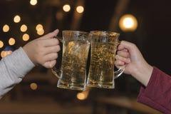 Abbildung der Martini-Gläser und der Ballone Lizenzfreie Stockfotografie