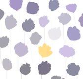 Abbildung der Mohnblumen stockbilder