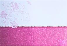 Abbildung der Musterpapierkarte Lizenzfreie Abbildung