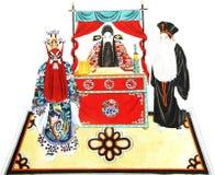 Abbildung der Peking-Oper Lizenzfreies Stockfoto