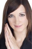 Abbildung der reizenden jungen Frau Lizenzfreie Stockfotografie