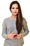 Abbildung der schönen Frau Lizenzfreies Stockfoto