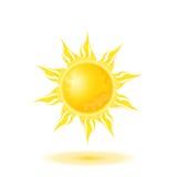 Abbildung der Sonne stock abbildung