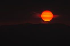 Abbildung der Sonne Stockfotografie