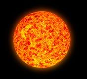 Abbildung der Sonnenfleckaktivität Stockbild