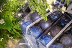 Abbildung der Weihnachtsdekoration Lizenzfreie Stockfotografie