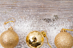 Abbildung der Weihnachtsdekoration Stockfotos