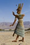 Abbildung des alten ägyptischen Mannes Lizenzfreies Stockfoto