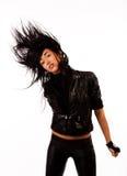 Abbildung des attraktiven jungen Tänzers Stockfotos