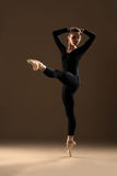 Abbildung des Balletts dancer Stockfoto
