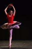 Abbildung des Balletts dancer lizenzfreie stockbilder