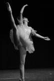 Abbildung des Balletts dancer stockbild