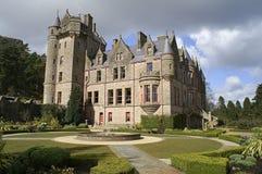 Abbildung des Belfast-Schlosses in Nordirland. Stockfotos